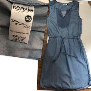 Kensie cotton Shirt Dress